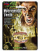 Horror Werewolf Teeth