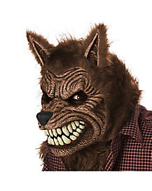 Animotion Brown Werewolf Mask