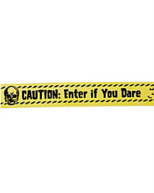 Zombie Warning Tape - Decorations