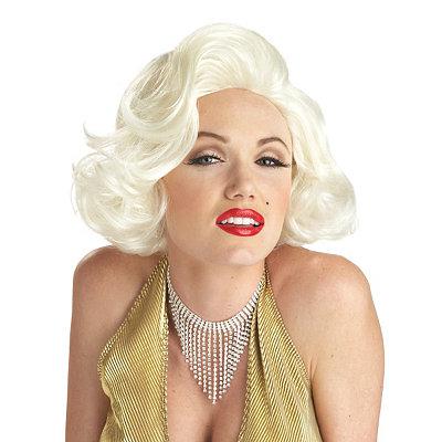 Shop 1950s Hair Accessories Marilyn Monroe Wig - Marilyn Monroe $19.99 AT vintagedancer.com