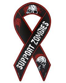 Zombie Skull Support Magnet