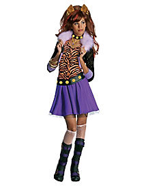 Kids Clawdeen Wolf Costume - Monster High