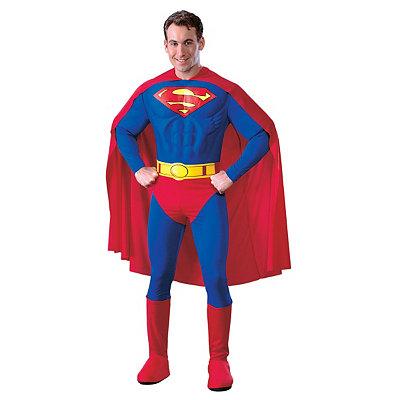 Superman Muscle Adult Costume