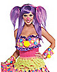 Berry Bubbles Clown Wig
