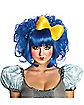 Blue Cutie Doll Wig