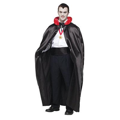 Men's Vintage Style Clothing 56 in Black Count Cape $14.99 AT vintagedancer.com