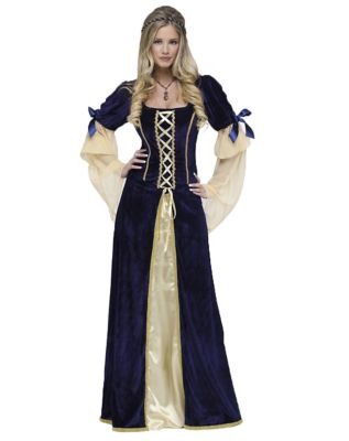 Adult Maiden Faire Costume  sc 1 st  Spirit Halloween : victorian clown costume  - Germanpascual.Com