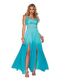 Adult Floor Length Aphrodite Costume