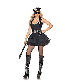Adult Sexy Skirted Cop Costume