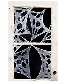 stretchy spider webs decorations - Halloween Spider Web Decorations