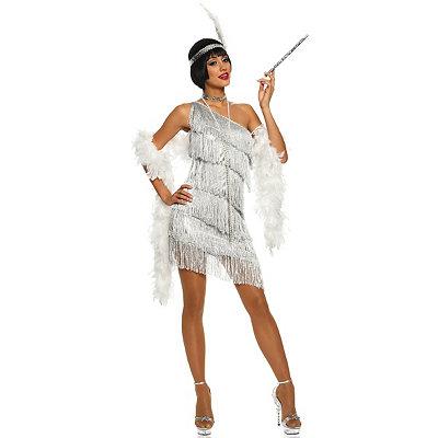 1920s Style Dresses, Flapper Dresses Adult Dazzling Flapper Costume $39.99 AT vintagedancer.com