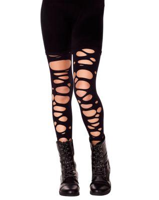 Steampunk Kids Costumes | Girl, Boy, Baby, Toddler Kids Tattered Tights by Spirit Halloween $9.99 AT vintagedancer.com
