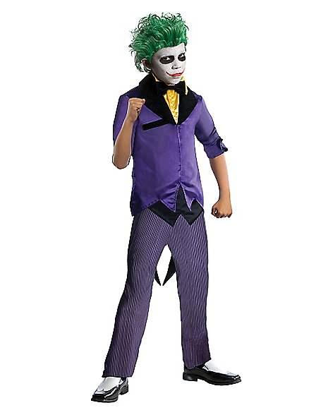 Kids Joker Costume - Batman  sc 1 st  Spirit Halloween & Kids Joker Costume - Batman - Spirithalloween.com