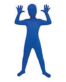 Kids Blue Super Skins®  Costume
