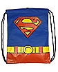 Superman Caped Cinch Bag