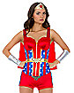Wonder Woman Corset with Cape - DC Comics