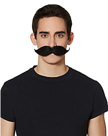 6 Way Black Moustache