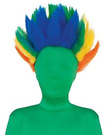 Spiked Rainbow Wig