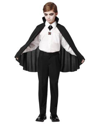Steampunk Kids Costumes | Girl, Boy, Baby, Toddler Kids Vampire Cape by Spirit Halloween $7.99 AT vintagedancer.com