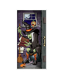 Witch Door Cover - Decorations