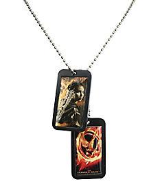 Katniss Dog Tags - Hunger Games