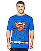 Caped Superman T Shirt - DC Comics