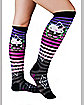 Hello Kitty Spider Web Adult Knee Socks