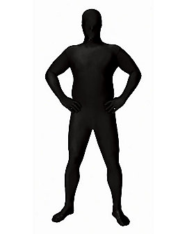 Super Skins® Black Skin Suit Adult Mens Plus Size Costume