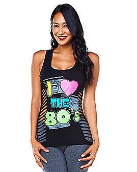 Adult I Love the 80s T Shirt