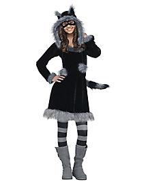 Kids Sweet Raccoon Costume