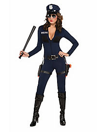 Adult Traffic Stop Cop Costume