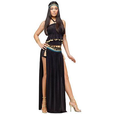 Roaring 20s Costumes- Cheap Flapper Dresses, Gangster Costumes Adult Nile Dancer Costume $39.99 AT vintagedancer.com