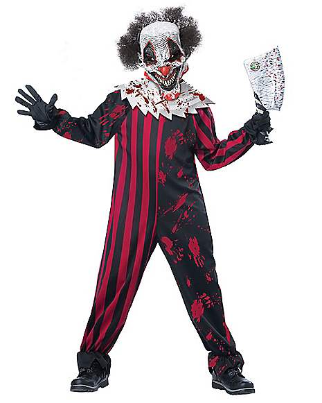 Creepy Clown Costume for Kids
