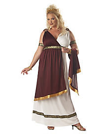 Adult Roman Empress Plus Size Costume