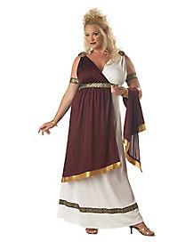 adult roman empress plus size costume