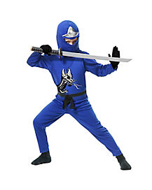 Kids Blue Avenger Ninja Costume