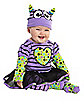 Baby Purple Boo Monster Costume