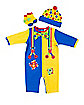 Baby Clownin' Around Clown One Piece Costume