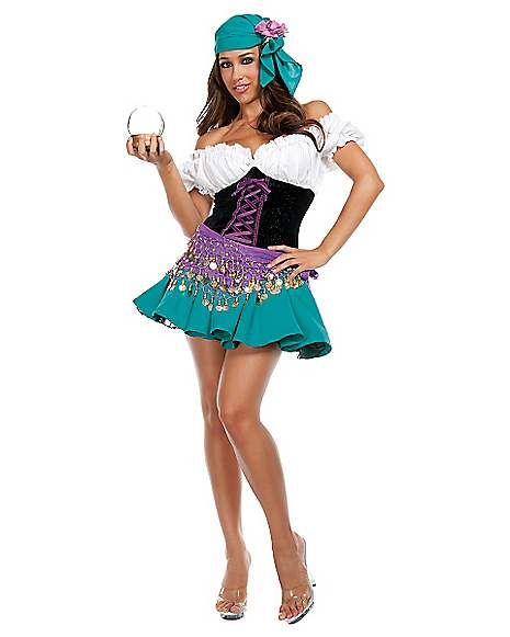 Gypsy Adult Womens Costume Spirithalloween Com