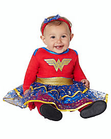 Baby Caped Wonder Woman Costume - DC Comics