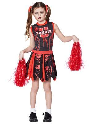 Kids Zombie U Cheerleader Costume  sc 1 st  Spirit Halloween & Kids Dead Cheerleader Zombie Costume - Spirithalloween.com