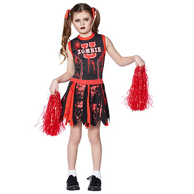 Kids Zombie U Cheerleader Costume