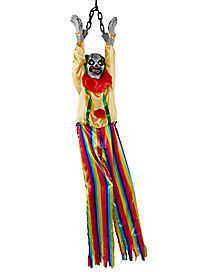5 ft Animated Hanging Clown Decorations