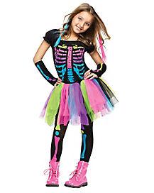 Kids Funky Punky Bones Costume