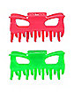 Neon Pink and Green Claw Clips
