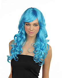 Monster Blue Wig