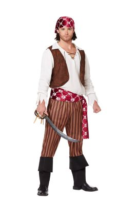 Adult Cut Throat Pirate Costume · Adult Shipwreck Pirate Costume  sc 1 st  Creative Costume Ideas & Swashbucklinu0027 Pirate Halloween Costumes Men Be Mad For! - Creative ...