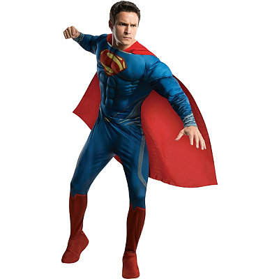 Man of Steel Superman Deluxe Adult Mens Costume