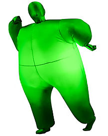 Kids Blimpz Green Light Up Inflatable Costume