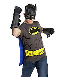 Adult Batman Gauntlets - DC Comics